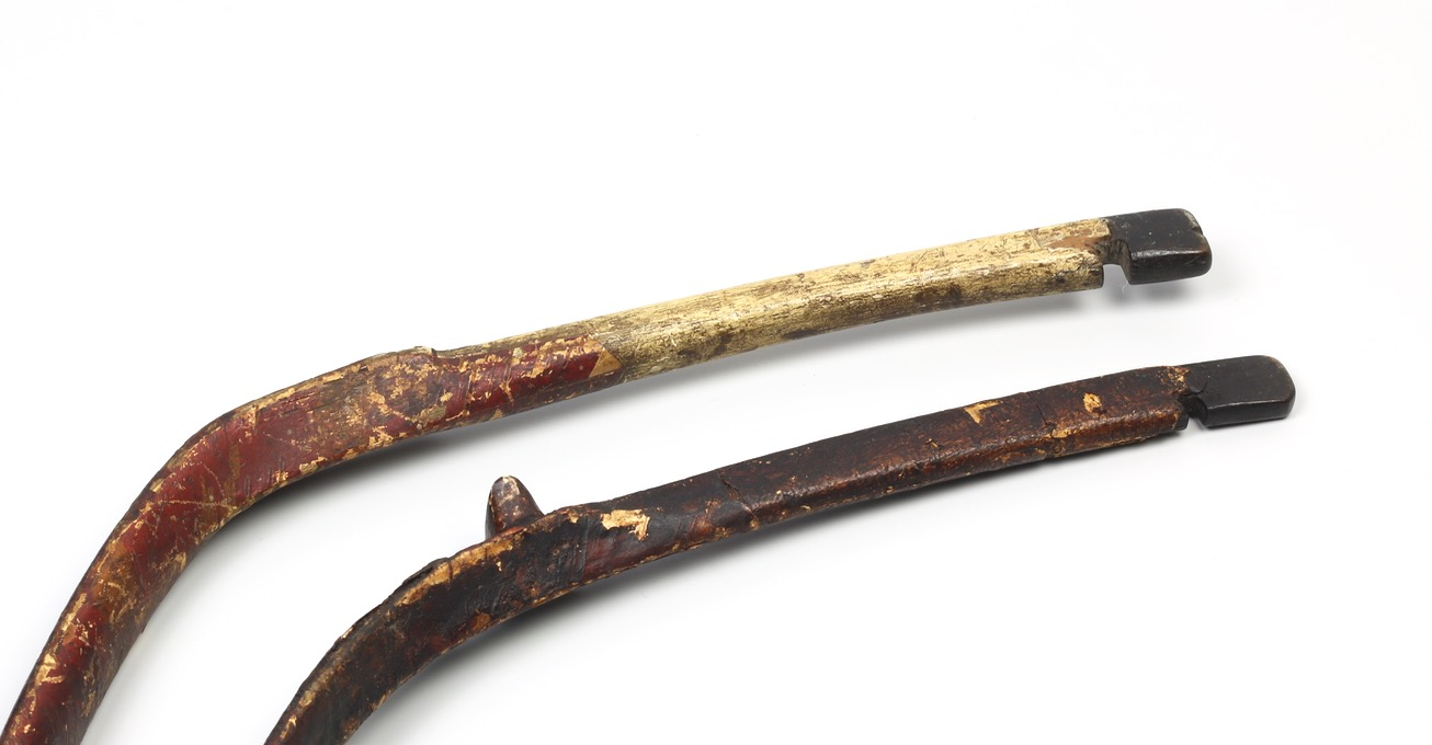 Antique Manchu bows