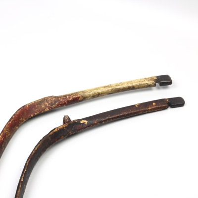 Two antique Manchu bows
