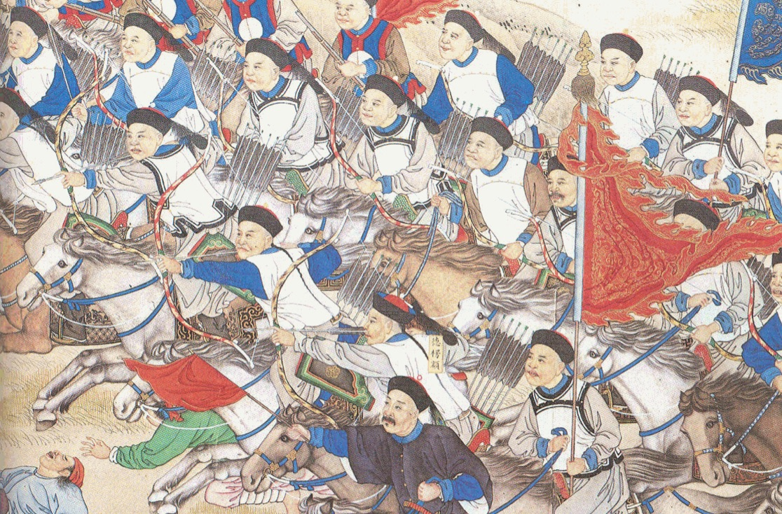 Manchu bows put to use by Manchu archers in the Nien Rebellion of 1851-1868