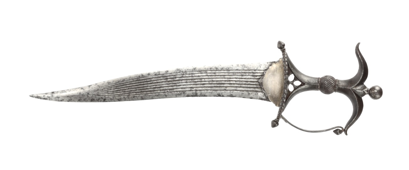 A fine Deccan Chilanum dagger with all-steel hilt