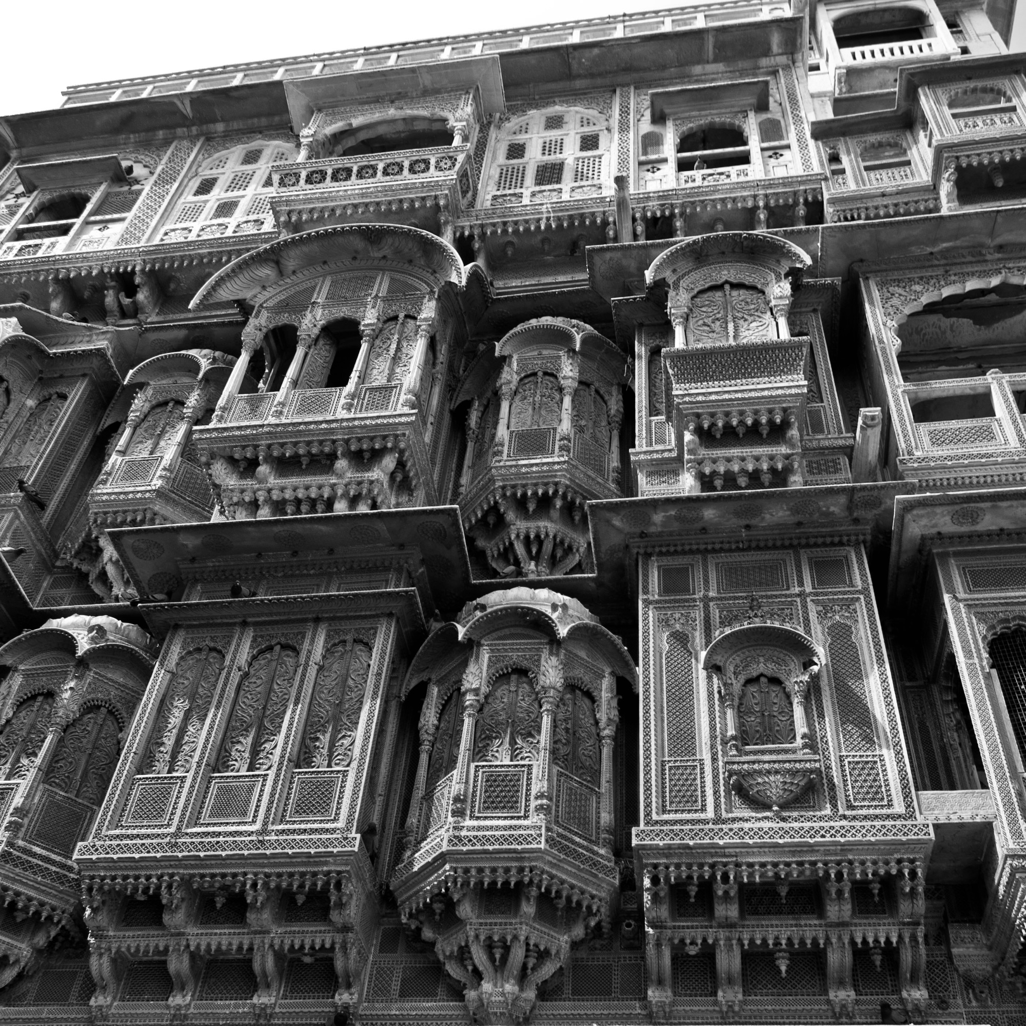 Indian haveli building