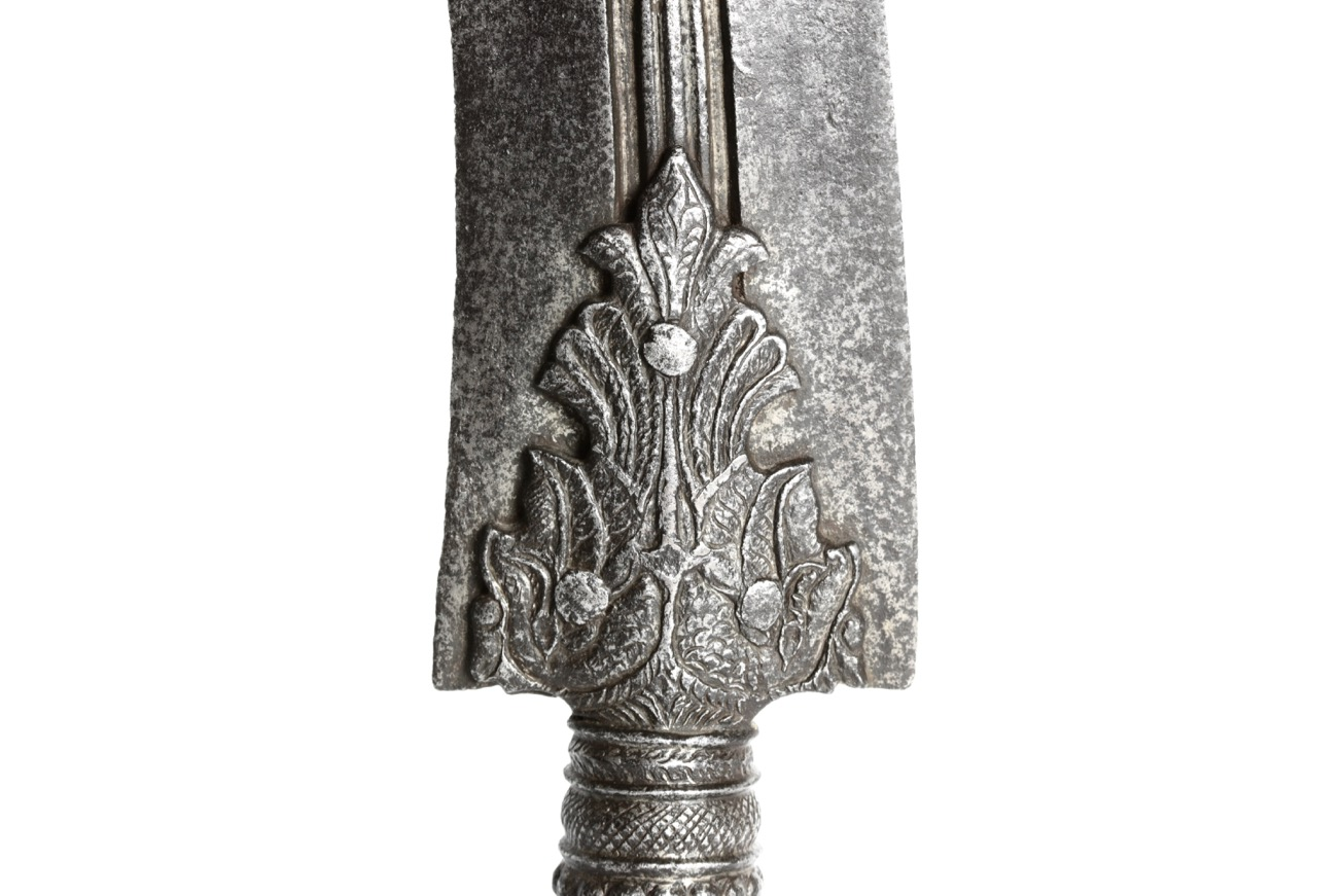A 17th century spearhead from Tanjore