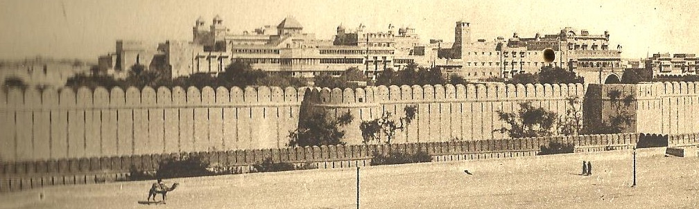 Bikaner South Front Old Palaces Fort picture