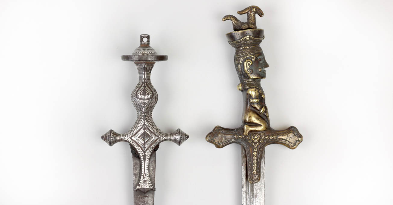 A comparison between a south Indian sword of Malabar and a Toba Batak sword