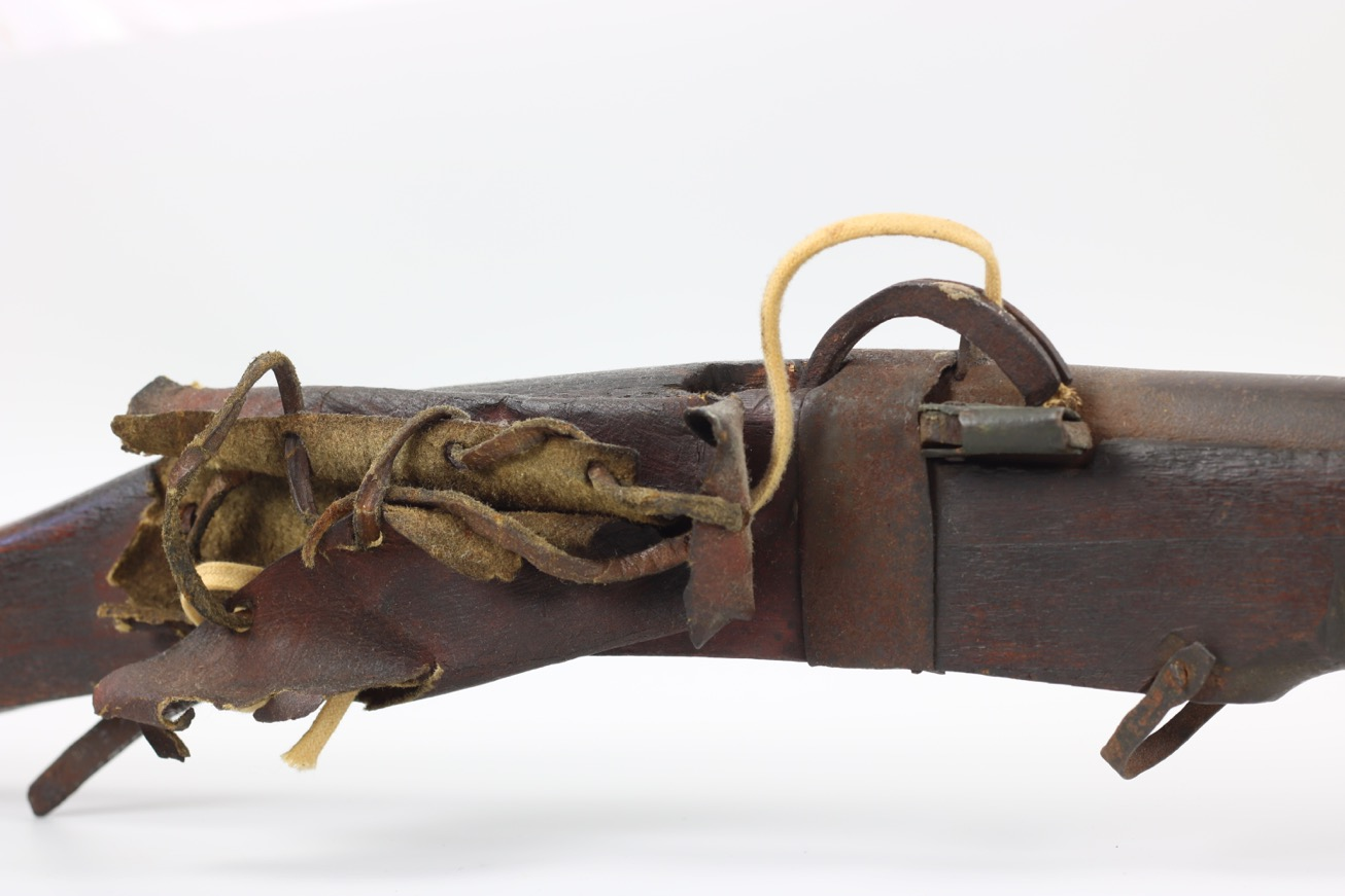 A Chinese matchlock musket