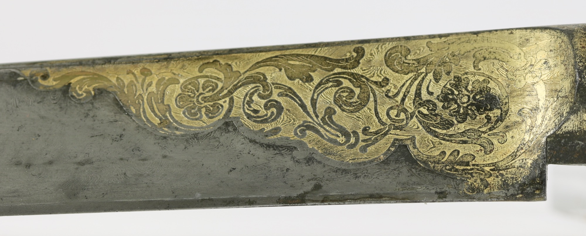 Forte on an Ottoman styled knife made by Manceaux of Paris