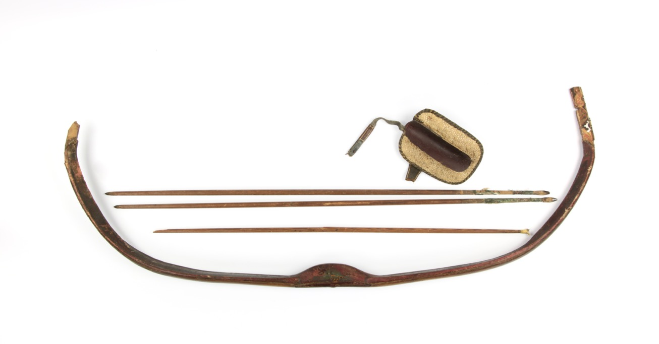 An early Ottoman bow with siper and arrows