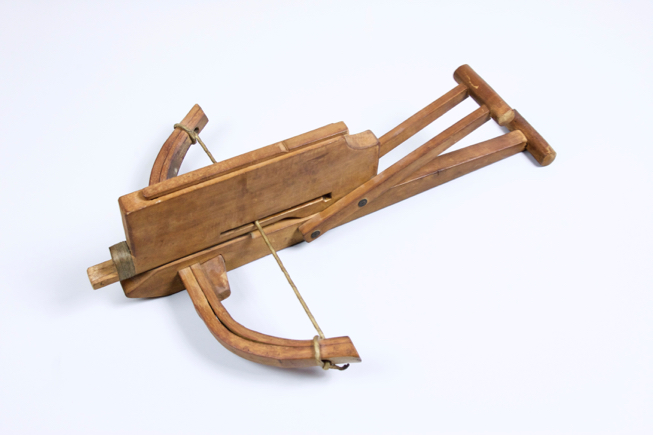 An antique Chinese repeating crossbow