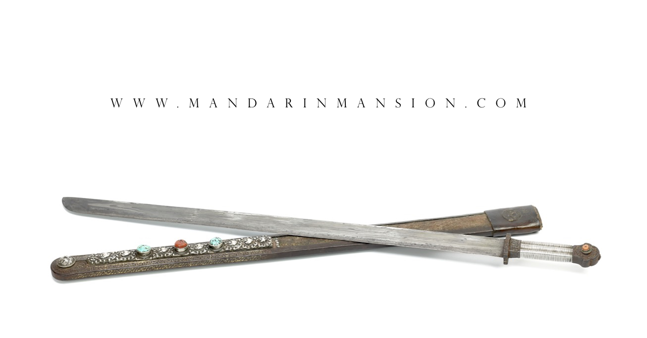 A very good Tibetan sword called dpa'dam