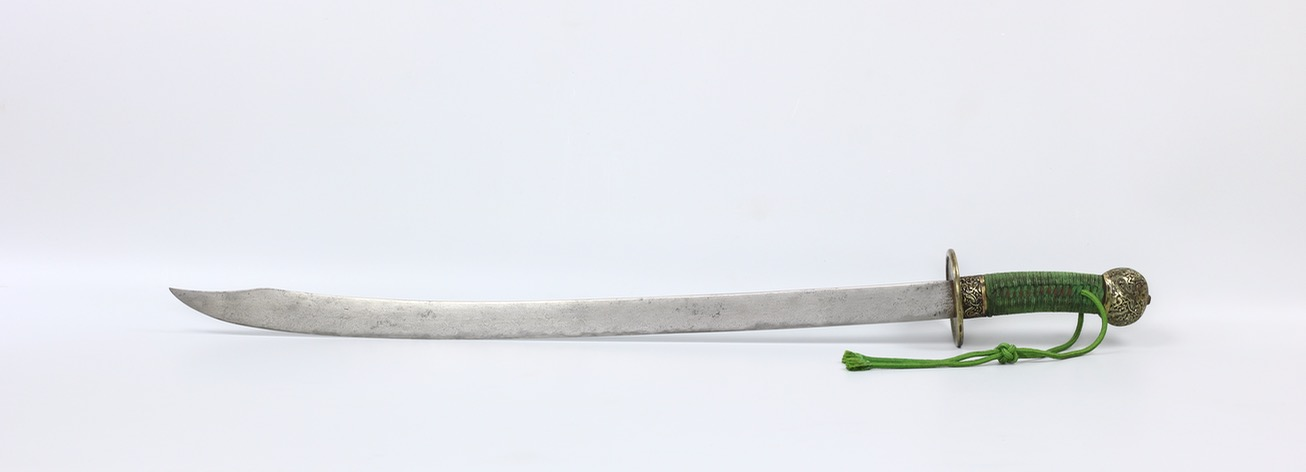 An antique Chinese saber of the 17th century