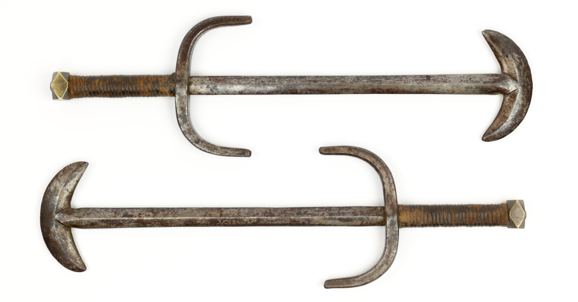 Chinese crescent moon weapons