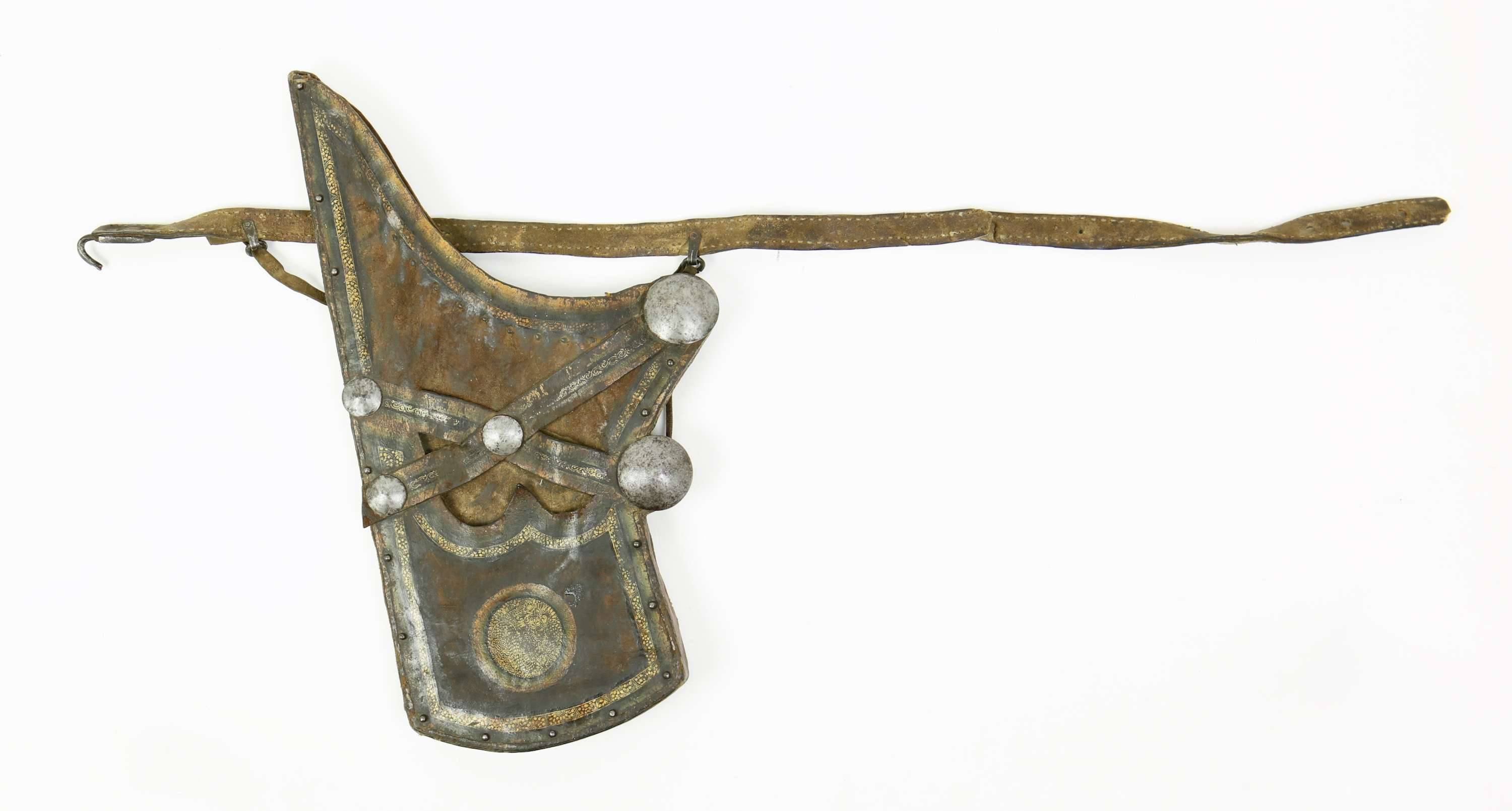 Tibetan or Mongolian quiver with belt