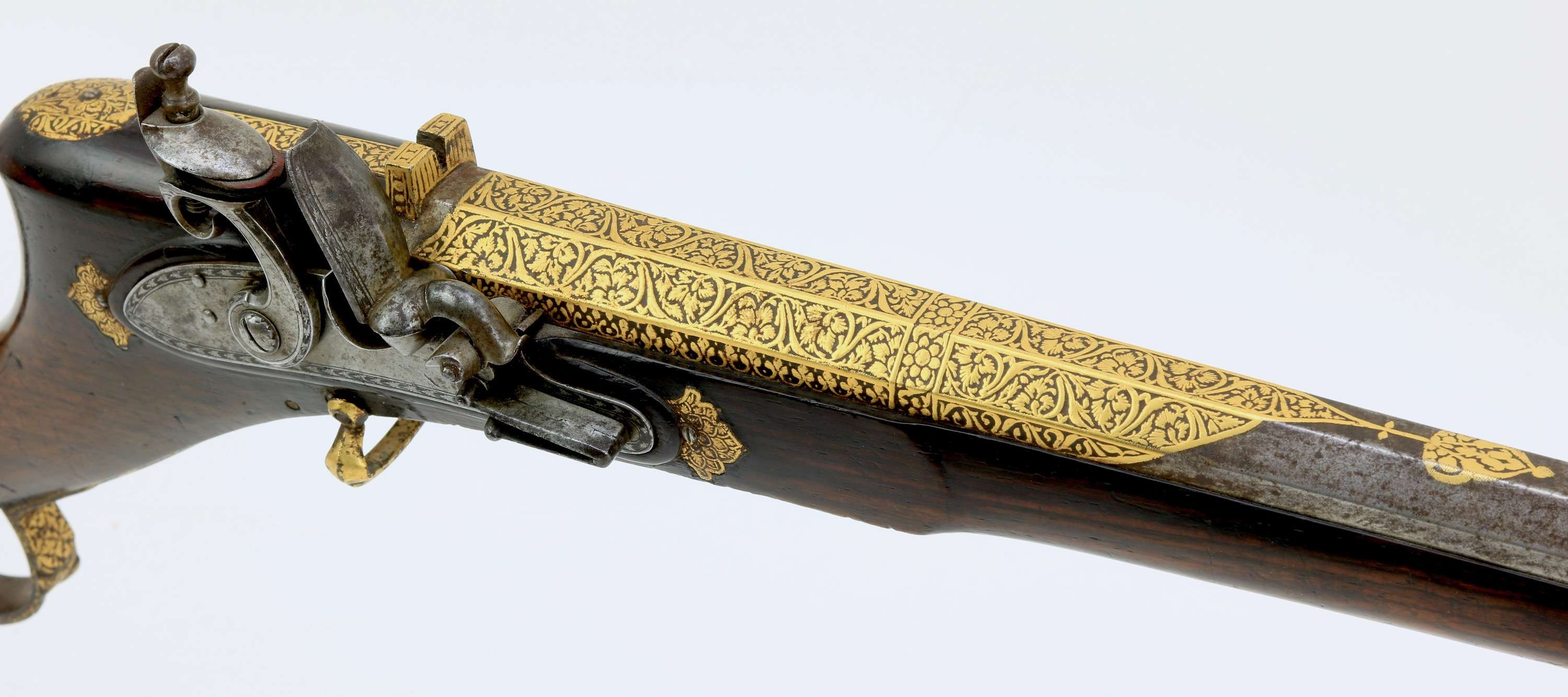 Fine flintlock musket from Sindh