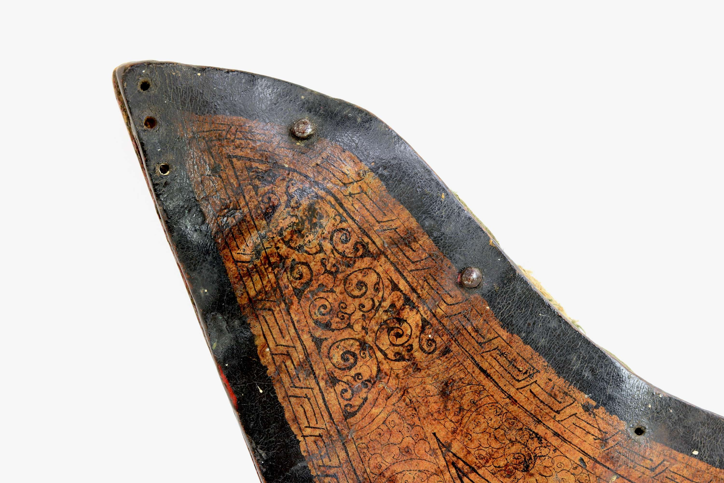 Antique Tibetan or Mongolian open quiver 15th-17th century