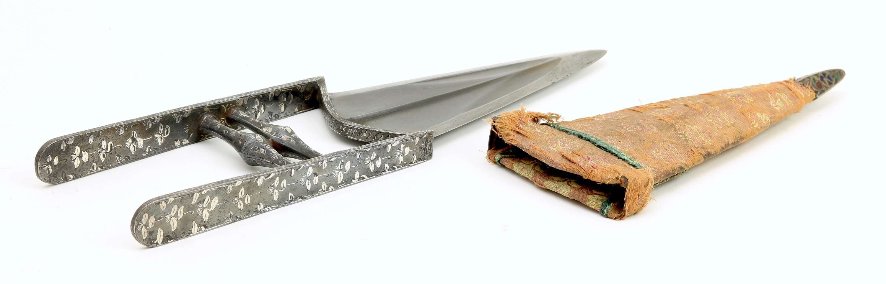 Katar with true inlay, Bijapur