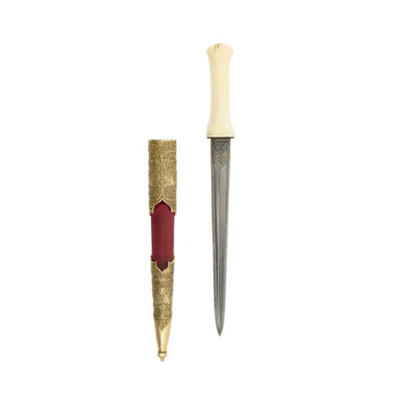 Ottoman court dagger with renaissance style decor logo