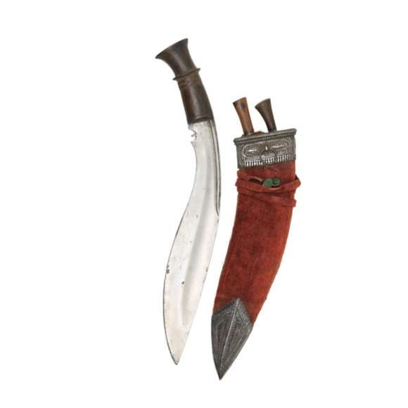 Very large khukuri logo