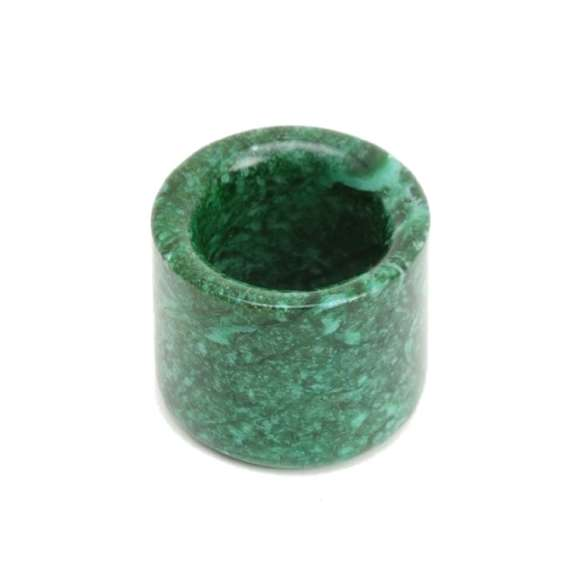 Malachite Manchu thumb ring logo